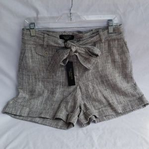 NWT TALBOTS Petites Gray Shorts Size 10P